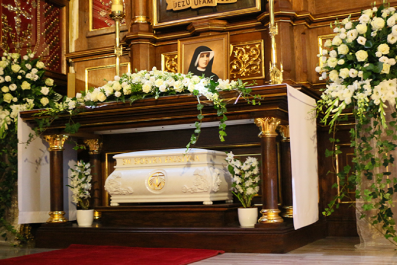 The Relics of St. Faustina Kowalska