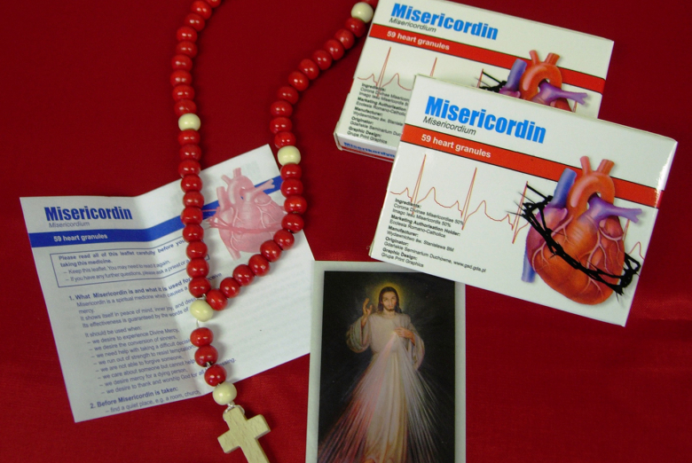 Misericordin - available from the Sisters of Our Lady of Mercy